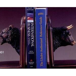 Bear & Bull Head Bookends (9